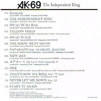 TheIndependentKing通常版/AK-69【あす楽対応】