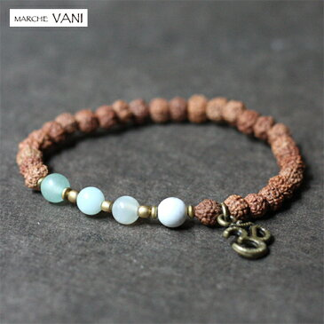 VANI ブレスレット harmony 天然石 ルドラクシャ メール便送料無料