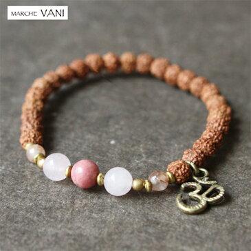 VANI ブレスレット petal 天然石 ルドラクシャ メール便送料無料