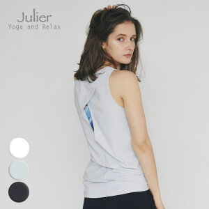 Julier ジュリエ ヨガウェア トップス タンクトップ プライムフレックスバッククロスタンクトップ b1913jub025 2021年秋冬新作