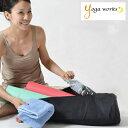 ヨガワークス マットバッグ ヨガマット ケース 【メール便送料無料 ヨガワークス ヨガマット ケース 6mm対応 バッグ キャリー yogaworks ヨガマットケース】