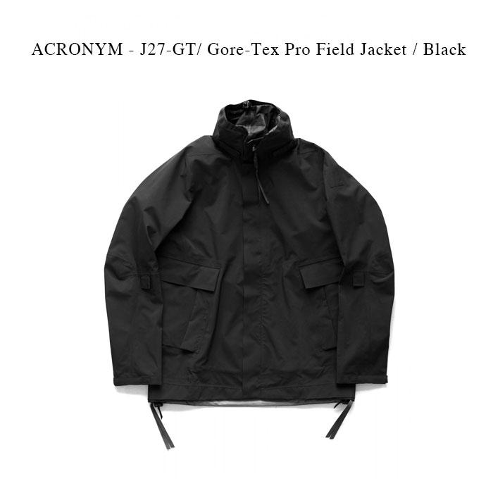 メンズファッション, コート・ジャケット ACRONYM - J27-GT Gore-Tex Pro Field Jacket Black