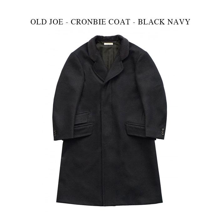 メンズファッション, コート・ジャケット OLD JOE - CRONBIE COAT - BLACK NAVY
