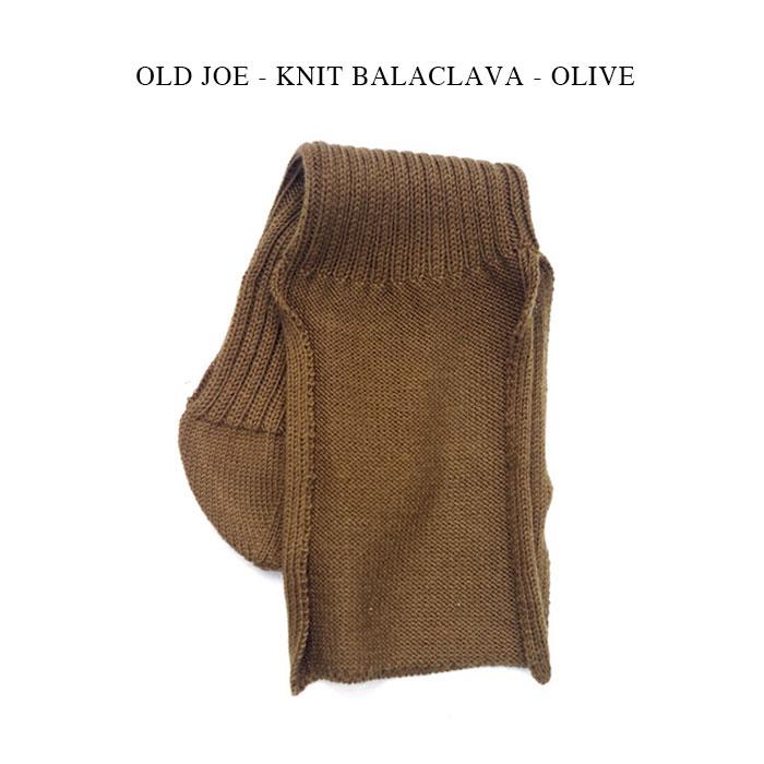 メンズ帽子, ニット帽 OLD JOE - KNIT BALACLAVA - OLIVE OJ-KB
