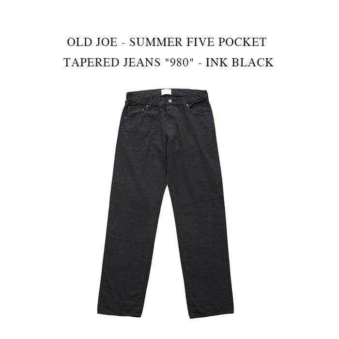 メンズファッション, ズボン・パンツ 30OFFOLD JOE - SUMMER FIVE POCKET TAPERED JEANS 980 - INK BLACK 5