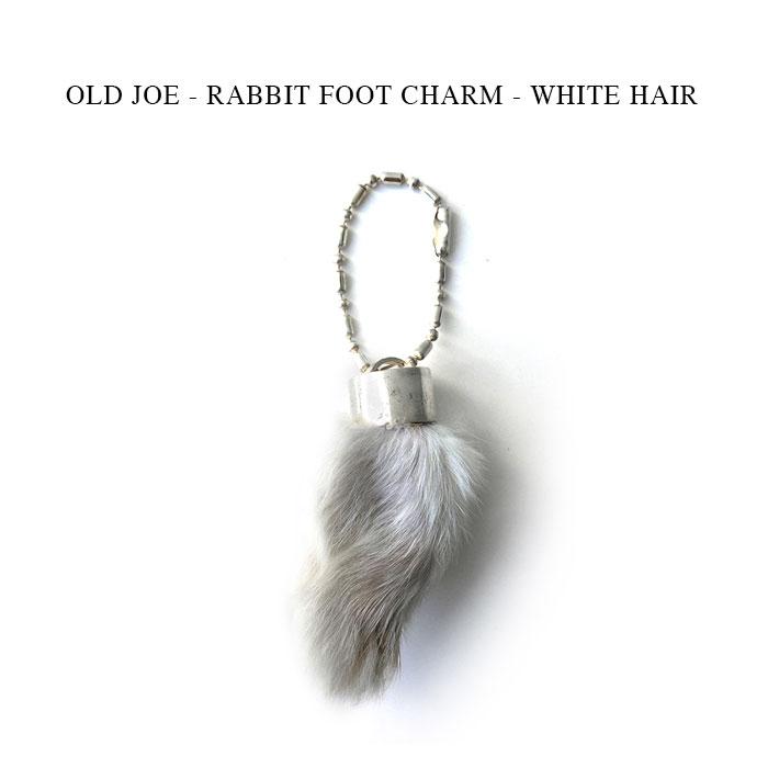 バッグ・小物・ブランド雑貨, その他 OLD JOE - RABBIT FOOT CHARM - WHITE HAIR