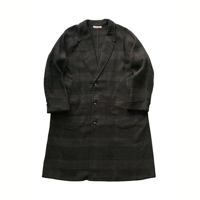 メンズファッション, コート・ジャケット OLD JOE - NARROW RAPEL DUSTER COAT - GLEN PLAID