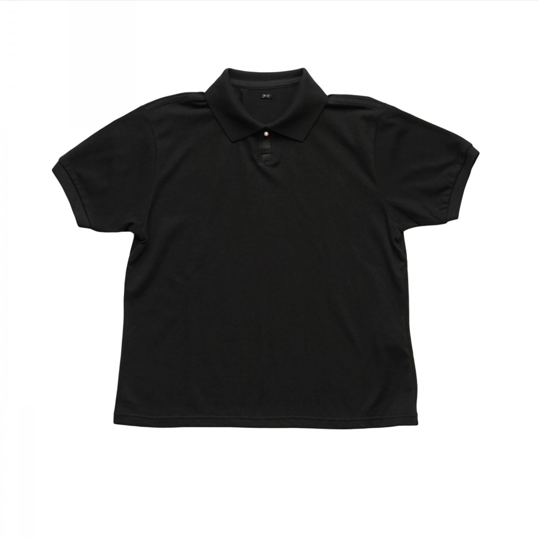 トップス, ポロシャツ Porter Classic - SUVIN GOLD WHITE PEARL POLO SHIRT for PC LADIES - BLACK PC LADIES