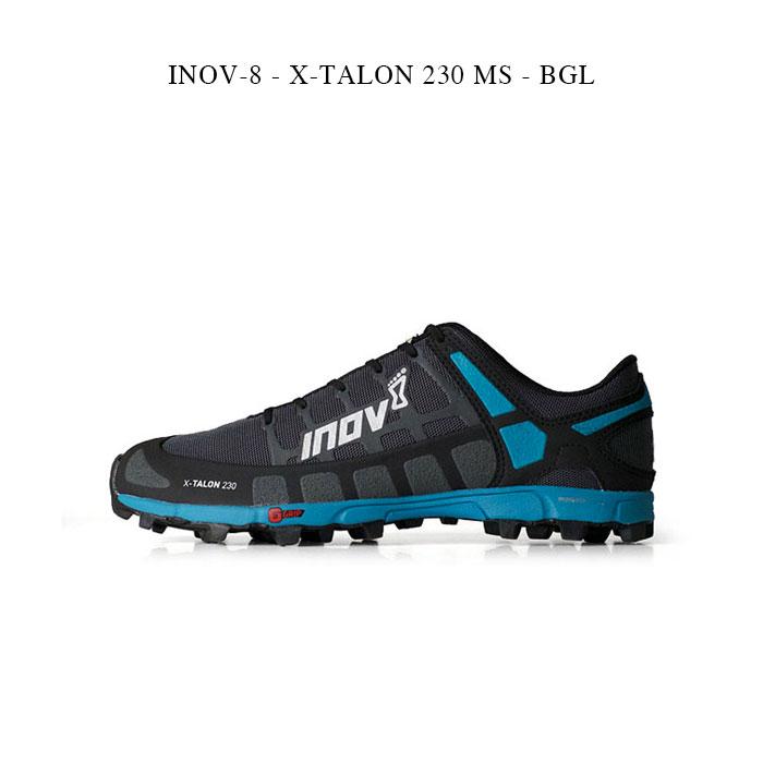 メンズ靴, ウォーキングシューズ INOV-8 - X-TALON 230 MS - BGL inov8