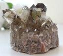 スモーキールチル クラスター02(天然石 パワーストーン 原石 置物 置き物 一点物) メール便不可 2