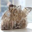 スモーキールチル クラスター02(天然石 パワーストーン 原石 置物 置き物 一点物) メール便不可 1