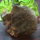 ブラジル産スモーキータイチンフラワールチルクォーツ原石パワーストーン...