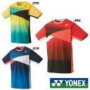 送料無料◆YONEX◆ユニセックス ゲームシャツ(フィットスタイル) 10367 ヨネックス テニス バドミン...