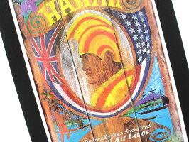 【デザイン250以上】ハワイアンポスター/ユナイテッドエアライン/1970カメハメハ(ハワイ雑貨/ハワイアン雑貨/ハワイアンインテリア/アメリカン雑貨/ハワイアンポスター/ハワイポスター/ポスター)