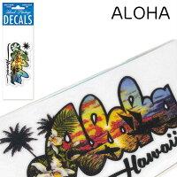 ハワイアン雑貨/ハワイ雑貨/ハワイアン/ディケールステッカー/ステッカー/シール/EddyY./スーツケース/ディカール/おしゃれ/Eddy/Yamaoto/レインスプーナー