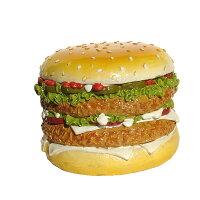 ハンバーガー/貯金箱/黄色/イエロー/おもしろ/ハワイアン雑貨/ハワイ雑貨/ハワイ/ハワイアン/アメリカン/雑貨/インテリア/オールディーズ/おしゃれ/大きい/男の子/かわいい/グッズ/おもちゃ