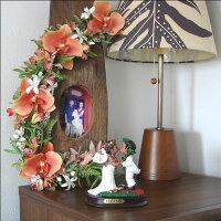 ハワイアン雑貨ハワイ雑貨【ハッピーウェディングフラドール1】ハワイハワイアンハワイアンインテリアハワイ結婚式ウェディングプレゼントハワイアンドール