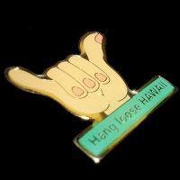 ハワイアン雑貨ハワイ雑貨【ゆうパケットで、送料160円】【ハワイアンコレクションピンハングルース】ハワイハワイアンハワイ土産ピンバッジピンバッチアメリカン雑貨シャカピン