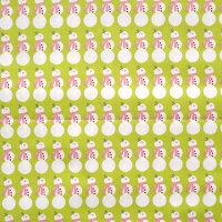 クリスマス生地【ゆうパケットOK】【50cm単位】【RileyBlake/スノーマン】(USA生地/カットクロス/ハワイアンファブリック/ハワイ生地/アメリカ生地/パッチワーク/usa布/雪だるま)