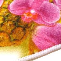 ハンドタオル/Forever/Florals/ハワイアン雑貨/ハワイ雑貨/ハワイ/雑貨/フォーエバーフローラルズ/ミニタオル/花柄/鮮やか/おしゃれ/かわいい/ハンカチタオル/プルメリア/パイナップル/ガーデニア/お土産/プレゼント/薄手