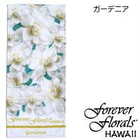フェイスタオルForeverFloralsHawaii【メール便OK2枚まで】ハワイアン雑貨ハワイアン雑貨ハワイ雑貨ハワイおしゃれかわいいふわふわフォーエバーフローラルズ花柄プルメリアガーデニアパイナップルゴージャスお土産プレゼントポイント消化