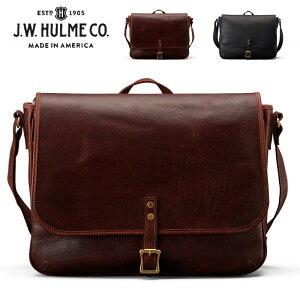 J.W.HULMEアメリカ製レザーメッセンジャーバッグCONTINENTALMESSENGER