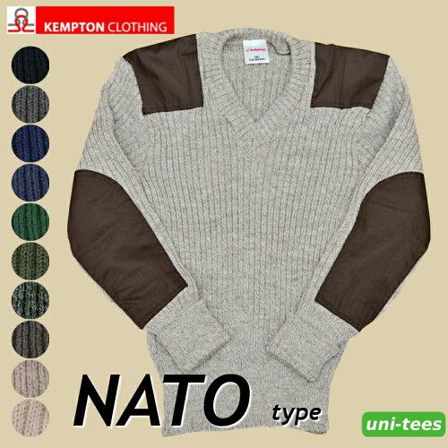 ケンプトン コンバットセーターNATO軍タイプコマンドセーター[MADE IN ENGLAND]ミリタリーセーター