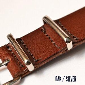 【20mm】【18mm】ブライドルレザーNATOベルトSMARTTURNOUTスマートターンアウトNATOタイプ腕時計用レザーベルト
