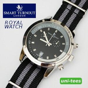 クロノグラフSMARTTURNOUTROYALWATCHスマートターンアウトクロノグラフ腕時計