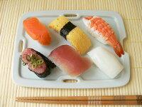 青磁色のオシャレな20cmお寿司トレー【和食器長皿さんま皿角皿和皿焼き物皿通販販売スクエア】
