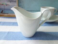 ミルクピッチャー大きいわけありアウトレットペリカンみたいミルクポット満水300mlレンジ可食洗器対応おしゃれ水差しクリーマー日本製通販陶器