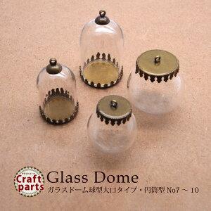 ガラスドーム 球型 大口タイプ