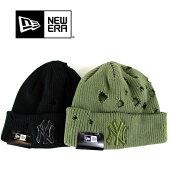 NEWERA(ニューエラ)ニットキャップビーニー裏フリースニット帽