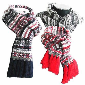 2014 冬季新壓克力公平島圖案圍巾 / 披肩圍巾,男士圍巾 / 冬季主食! 壓克力圍巾! 寒冷的天氣,通勤,男式圍巾,天冷的必備品! 私人與衣架和禮物建議/3898211-4681-968