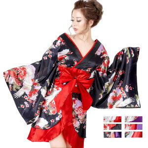 Free shipping Kimono mini dresses Oiran kimono dress with obi Kimono dress Kimono dress of the popular Oiran kimono series Dance costumes Sexy costumes Oiran kimono Cosplay Sexy Halloween night dress cabaret dress kimono yosakoi ladies ladies japanese pattern cute gorgeous 7566534-0711