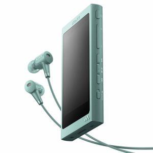 SONY ソニー NW-A45HN-G  ウォークマン Aシリーズ[メモリータイプ] ヘッドホン付属モデル 16GB ホライズングリーン NWA45HNGM