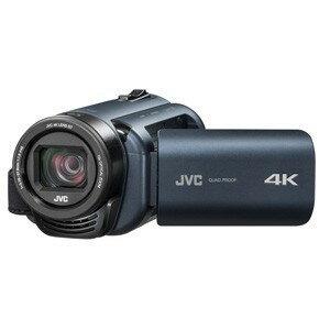 【納期約1~2週間】JVC GZ-RY980-A 4Kメモリービデオカメラ 「Everio(エブリオ) Rシリーズ」 ディープオーシャンブルー GZRY980A
