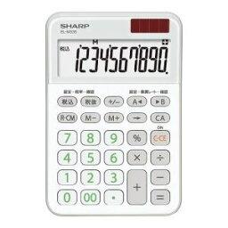 【納期約1ヶ月以上】SHARP シャープ EL-M335-WX ミニナイスサイズ電卓 ホワイト系 ELM335WX