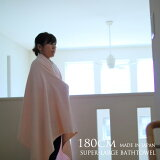 180cm超大判バスタオル(日本製)