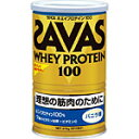 ザバス ホエイプロテイン100 バニラ378g(約18食分)明治