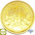 オーストリア ウィーン金貨 1/2オンス 純金 24金 15.55g 1/2oz 中古美品 送料無料