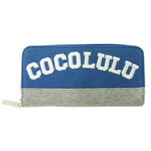 CO&LUチームココルルラウンド長札【ブルー】 CO&LU(ココルル)立体刺しゅうロゴがかわい…