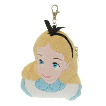 ディズニーダイカットパスケース アリス ディズニー「アリス」のかわいいパスケース☆定期入れ Disney カードケース ぬいぐるみ