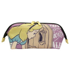 Disney 大容量ワイヤーポーチ 化粧 筆箱 ペンポーチ プリンセスディズニーワイヤーポーチ...