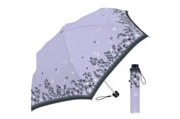 55cm耐風折 シャドウガーデン PU 折りたたみ傘 レディース 風に強い 傘 丈夫 かわいい 耐風 台風 花柄