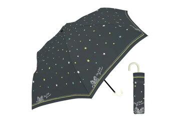 55cmDN折傘 チップデールスター 折りたたみ傘 ディズニー レディース かわいい 軽量 チップ デール