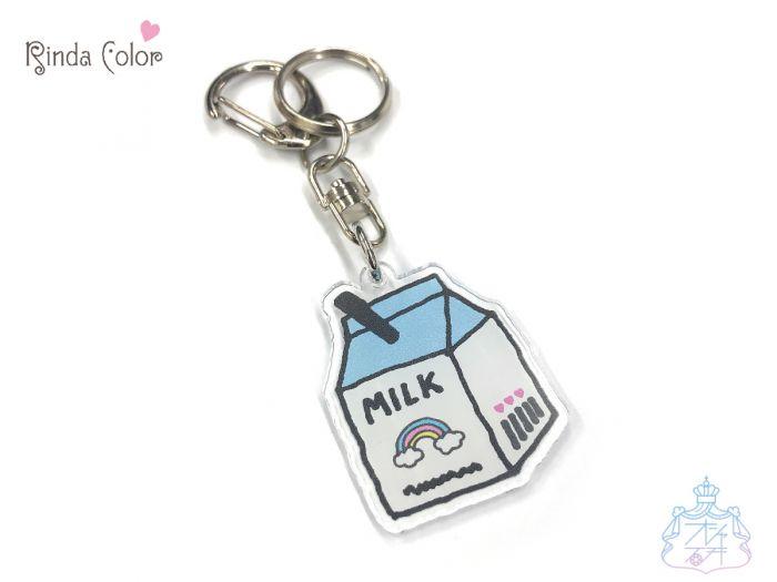 KHミルクパック BL キーホルダー チャーム バッグチャーム 小中高生 女の子 ミルク型 牛乳 カワイイ オシャレ 鍵 鞄 個性的 キーホルダー おしゃれ かわいい バッグチャーム かばん チャーム レディース
