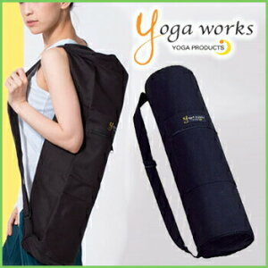 ヨガワークス マットバッグ yogaworks★マットバッグ マットケース ヨガバッグ ヨガマット ケース バッグ ピラティス エクササイズ 大容量 初心者用 3.5mm〜6mm対応 Yoga works《YW-F504/YW11154》「OS」: [ST-YO]001
