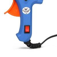 【グルーガン】フローリストおすすめプリザーブドフラワーの細かな部分にも接着しやすい高温手元スイッチ付