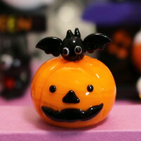 商品画像1ガラス細工かぼちゃ君